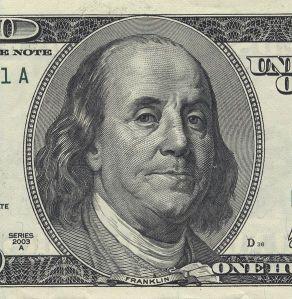 Franklin half mit, ein neues Land zu gründen, um dann auf dessen 100-Dollar-Note abgebildet zu werden. Mangels Smartphones war es damals noch recht umständlich, Selfies in Umlauf zu bringen. Bild: Wikimedia Commons